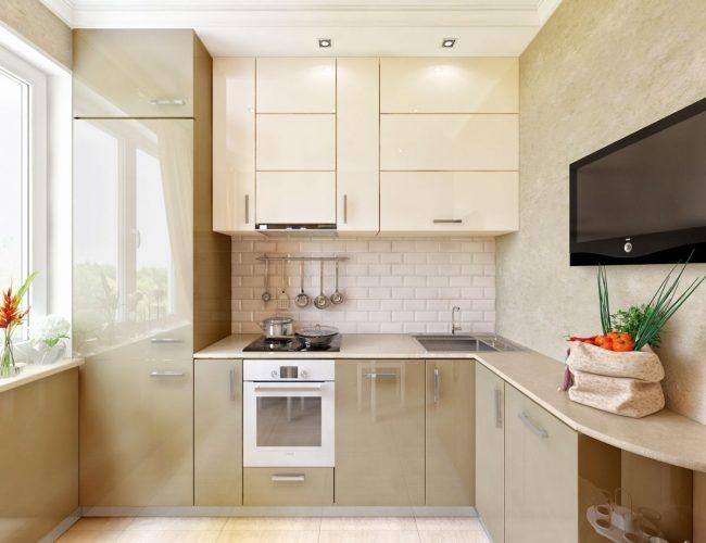 Egy kis konyha. Hogyan készítsünk egy kis konyhát funkcionális ...