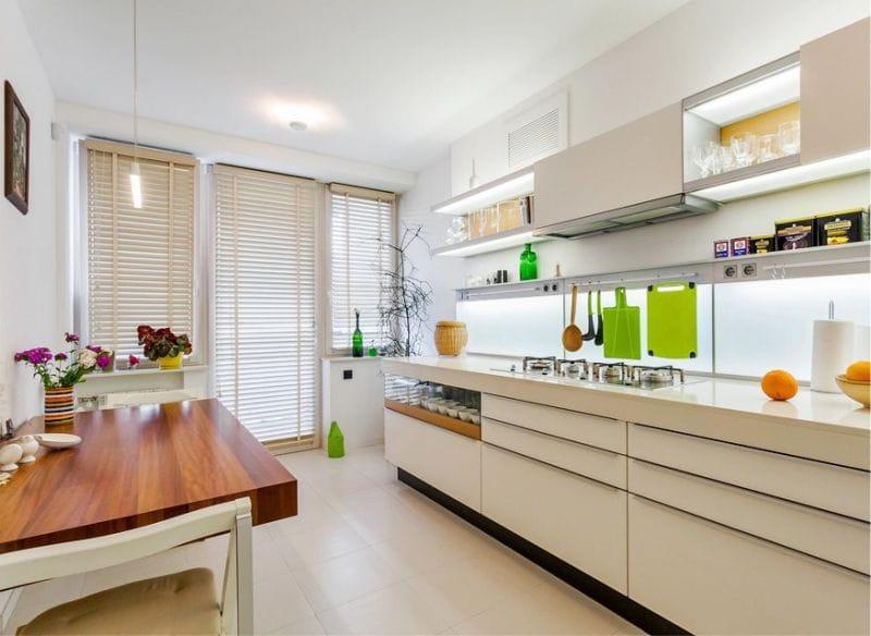 MDF - a legnépszerűbb anyag a költségvetéshez konyhai készletek. De a  bútorok költsége a kiválasztotttól függően időnként változhat díszítő  bevonat. e1d3e308d0