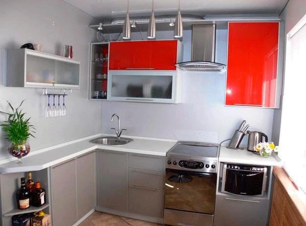 Buat Yang Luar Biasa Dan Dalaman Selesa Anda Juga Boleh Di Dapur Kecil Adalah Penting Untuk Tidak Menggunakan Banyak Perabot Memilih Skema Warna