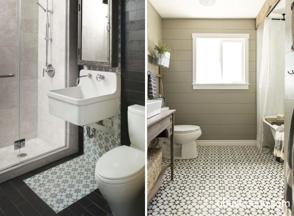 A fürdőszoba sötét színű. Vörös fürdőszoba jellemzői és belső ...