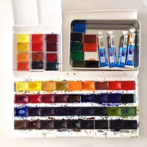 Sebagai Hasilnya Saya Telah Muncul Semua 57 Warna Seri NP Profesional Dari Mana Mengumpulkan Palet Dasar Lebih Tepatnya Bahkan 2 Besar