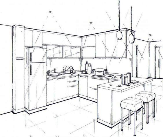 Dan Yang Paling Penting Anda Perlu Membuat Projek Reka Bentuk Lukisan Terperinci Set Dapur Terlebih Dahulu Perabot Sepatutnya