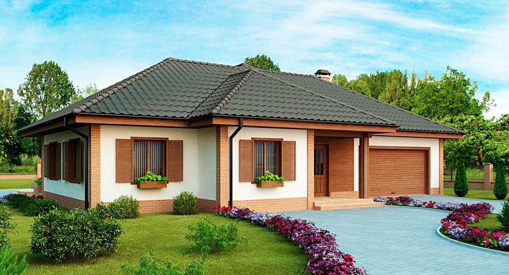 Solusi Fasad Untuk Rumah Pribadi Deskripsi Arsitektur Dan Artistik